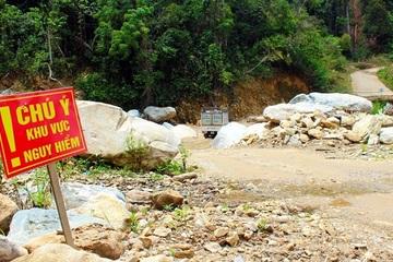 Hiểm họa rình rập trên các cung đường miền núi Quảng Nam