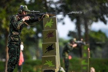 Army Games 2021: Nội dung 'Xạ thủ bắn tỉa' và 'Vùng tai nạn' đội Việt Nam đang dẫn đầu