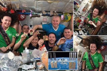 Sinh nhật đặc biệt trên Trạm vũ trụ quốc tế ISS