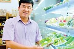 Kỹ sư cơ khí mê nông nghiệp, trở thành chủ chuỗi cửa hàng thực phẩm sạch
