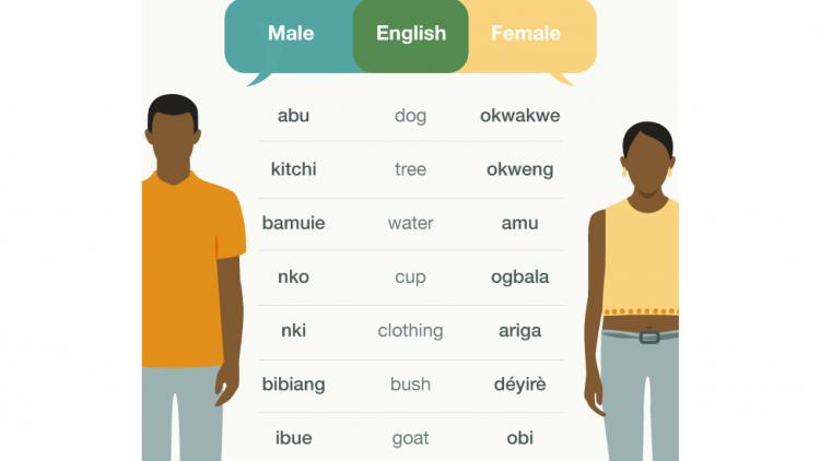 Ngôi làng đặc biệt nơi đàn ông và phụ nữ nói những ngôn ngữ khác nhau