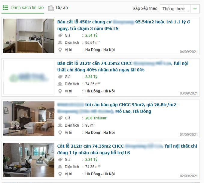Rầm rập 'bán cắt lỗ chung cư' hàng trăm triệu: Chiêu hút khách 'vào rọ'