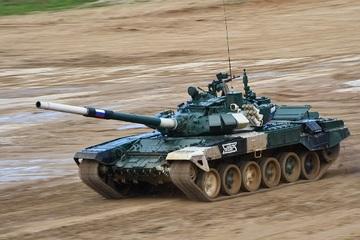 Chung kết Bảng 1 Tank Biathlon 2021, đội Nga giành chiến thắng thuyết phục