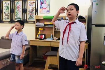 Hình ảnh học sinh cả nước dự lễ khai giảng đặc biệt có một không hai