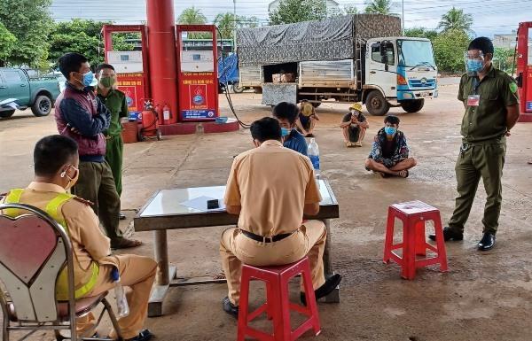 luồng xanh,Buôn Ma Thuột,Đắk Lắk,Hòa Phú,Đắk Nông,vi phạm,phòng chống dịch