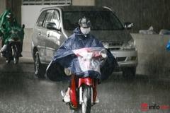 Tây Nguyên, Nam Bộ chiều tối mưa to