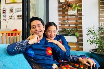 """MC Phan Anh nói """"tình bể bình"""" với bà xã: """"Điều tuyệt vời nhất là được nắm tay nhau đi qua bão giông"""""""