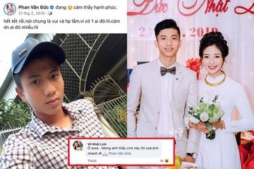Trước trận Việt Nam gặp Australia, Phan Văn Đức bị vợ 'ép' xoá ảnh thời 'trẻ trâu' khiến dân mạng bật cười