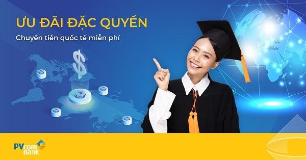 miễn phí chuyển tiền quốc tế,PVcomBank,miễn phí,chuyển tiền