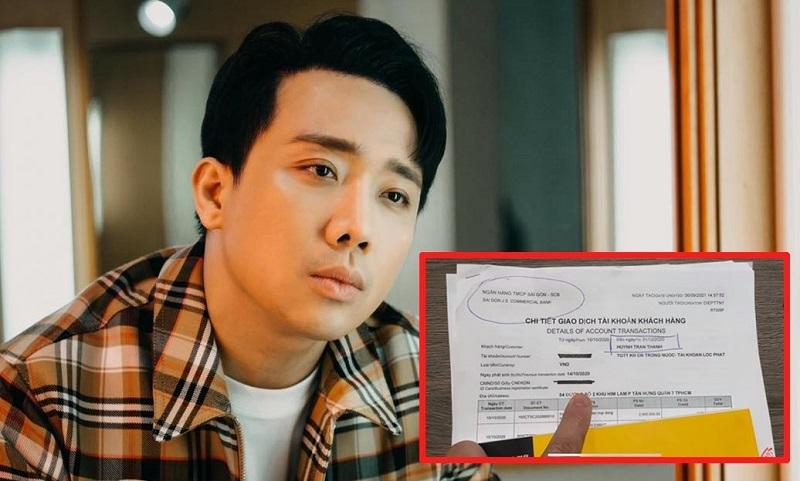 Sao kê từ thiện gây tranh cãi của Trấn Thành, Vietcombank lên tiếng