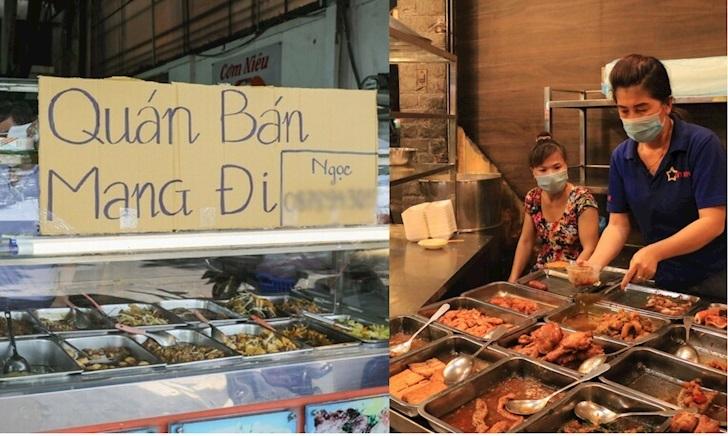 TP Hồ Chí Minh cho phép mở lại dịch vụ ăn uống, chỉ bán mang đi