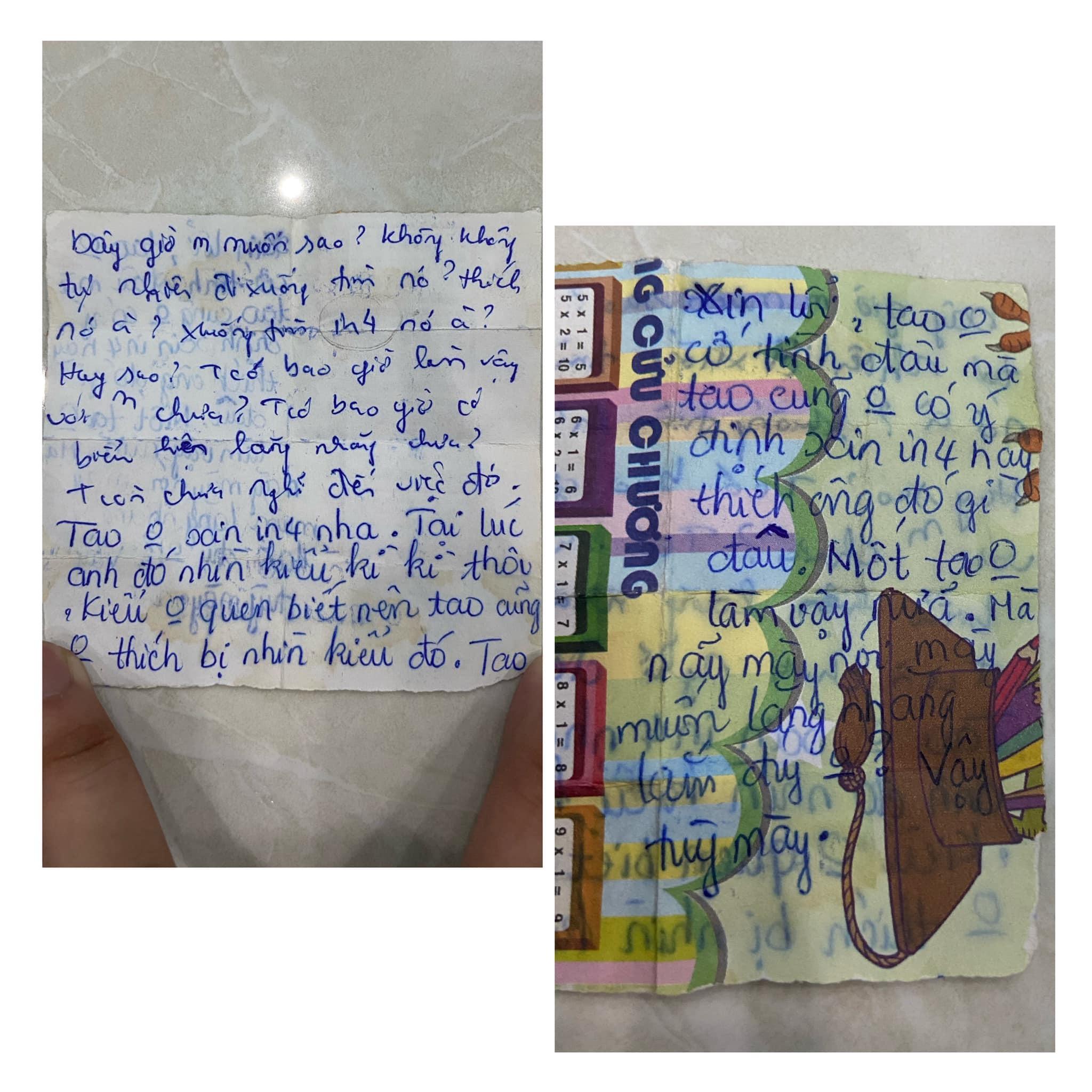 """Chuyện tình """"gà bông"""" của cặp đôi 10X được viết bằng hàng trăm lá thư tay"""