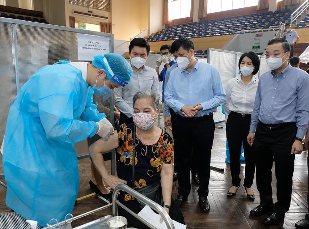 Hà Nội,Covid-19,tiêm chủng,vắc xin VeroCell