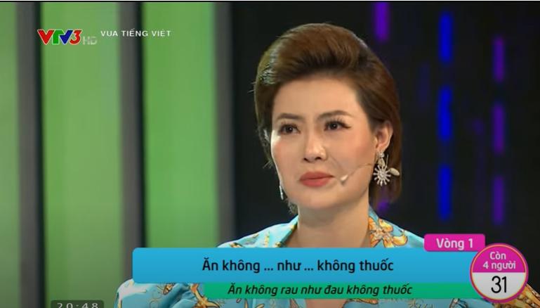 Vua tiếng Việt tập 1: Thanh Hương 'out' ngay vòng đầu, nghệ sĩ Trọng Trinh than trời 'thật hại não'