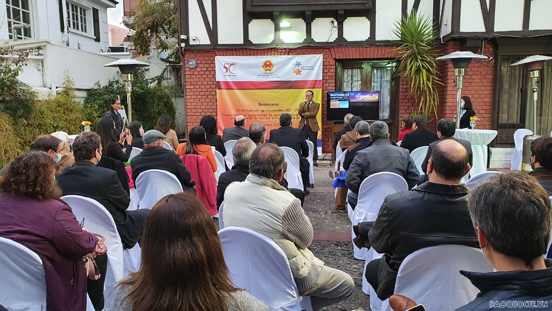 Tăng cường thúc đẩy quan hệ thương mại và đầu tư Việt Nam-Chile