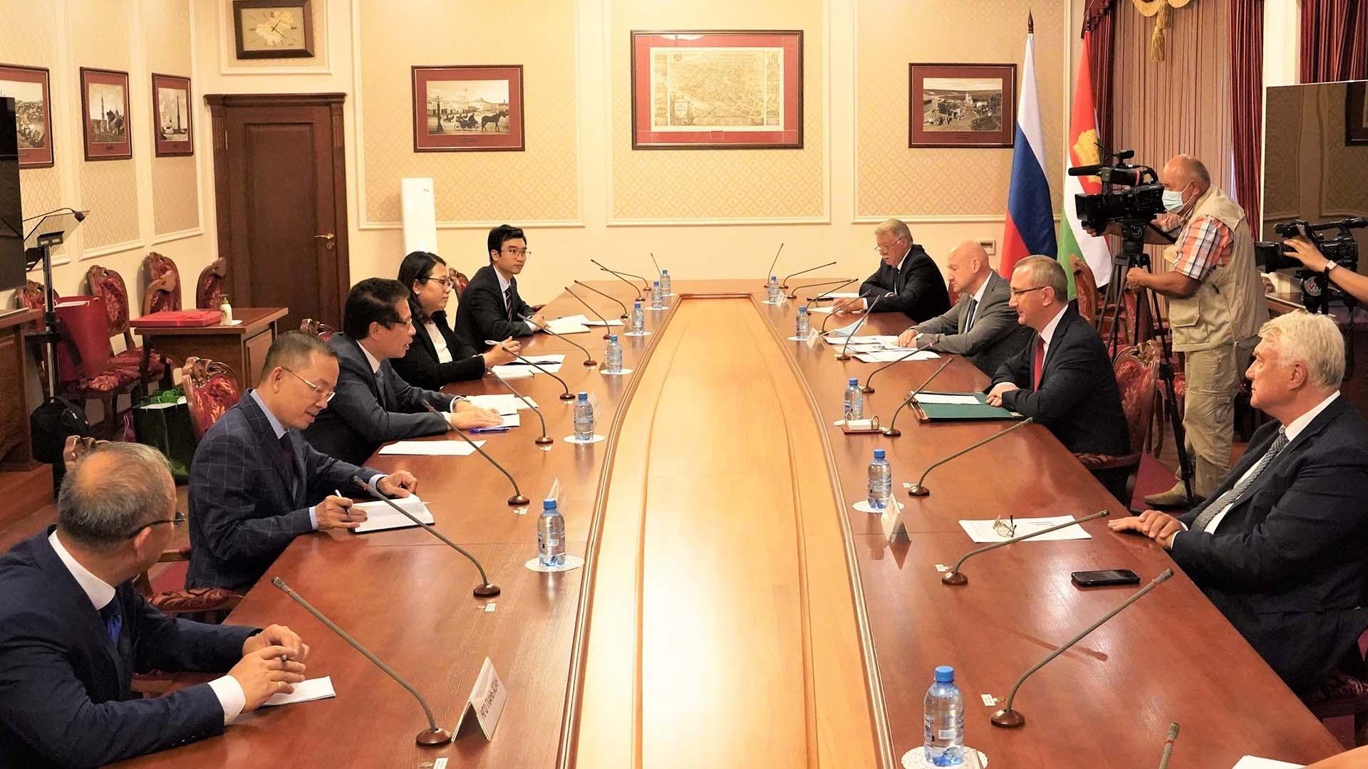 Thúc đẩy hợp tác các địa phương Việt Nam-Nga