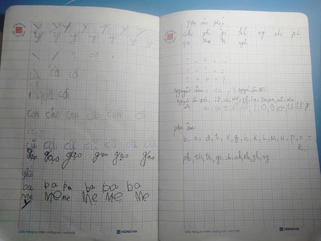 Học sinh lớp 1 làm toán và cái kết khó tưởng tượng