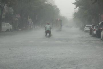 Bão giảm cấp khi vào đất liền, Quảng Trị - Quảng Ngãi và Kon Tum mưa rất to từ đêm nay
