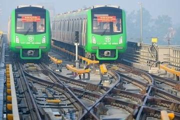 Đường sắt Cát Linh - Hà Đông lại 'ngốn' thêm hơn 7,8 triệu USD