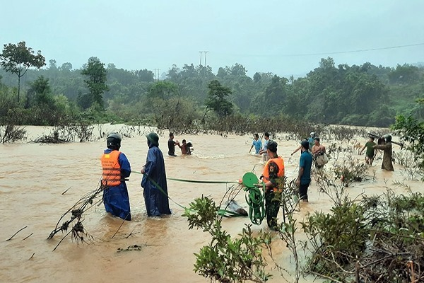 Huế,Lũ lụt,bão số 5