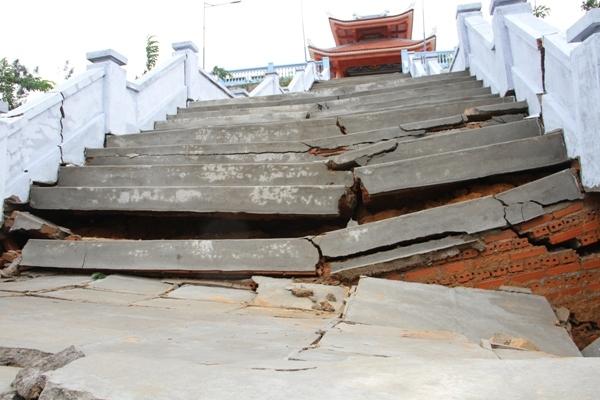 Đắk Lắk,Mưa lũ,thiên tai,Ngập,thiệt hại,sụt lún,hư hỏng,công trình,bão số 5
