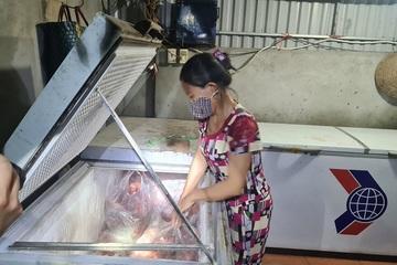 Bắc Giang: Phát hiện cơ sở kinh doanh thịt lợn nhiễm bệnh dịch không bảo đảm an toàn thực phẩm