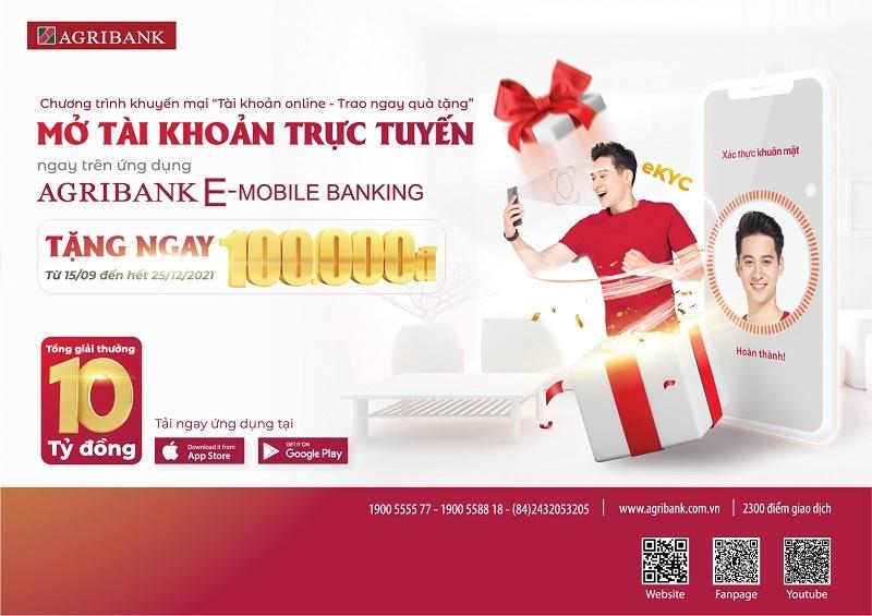 Agribank E-Mobile Banking,Agribank,eKYC