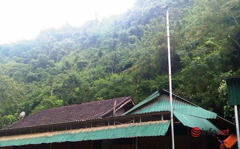 núi,Tương Dương,Nghệ An,sạt lở,nguy cơ,mùa mưa,mưa bão