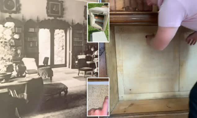 Đường hầm dưới lòng đất và những căn phòng bí mật giấu kín sau tủ sách khiến chủ nhà bất ngờ