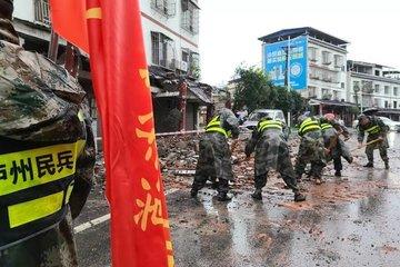 Động đất ở Tứ Xuyên của Trung Quốc, 63 người thương vong, huy động 4.000 nhân viên cứu hộ