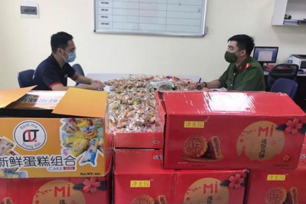 Hà Nội: Thu giữ 5.000 chiếc bánh Trung thu không rõ nguồn gốc