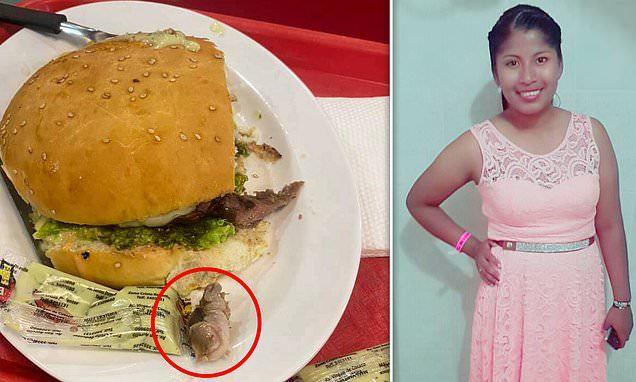 Khiếp sợ vì ăn trúng bánh mỳ kẹp thịt chứa 'ngón tay người'