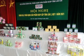 Lào Cai đánh giá, phân hạng thêm nhiều sản phẩm OCOP