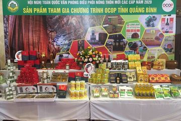Quảng Bình phấn đấu đến năm 2025 có điểm bán sản phẩm OCOP từ tỉnh đến huyện, thị xã, thành phố
