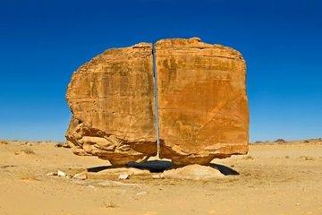 Bí ẩn về vết cắt thẳng tắp chia đôi tảng đá nghìn năm tuổi