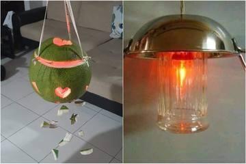 Loạt đèn trung thu 'của nhà trồng được' khiến dân mạng cười vỡ bụng