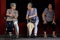 Số người cao tuổi Nhật Bản đạt mốc kỷ lục mới