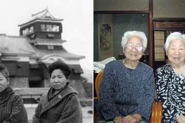 Cặp chị em song sinh giống hệt nhau cao tuổi nhất thế giới