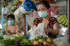 Giá thực phẩm ngoài siêu thị ở TP.HCM cao ngất ngưởng