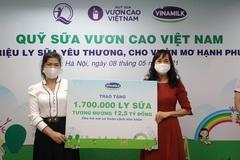"""Vinamilk góp 1 triệu ly sữa cho trẻ em khó khăn với hoạt động  """"Cùng góp điểm xanh, cho Việt Nam khỏe mạnh"""""""