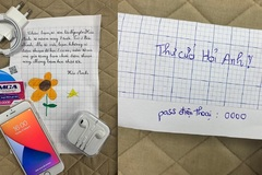 Xúc động bức thư và món quà gửi tặng 'bạn chưa quen' của học sinh lớp 2
