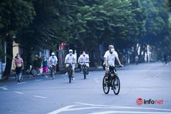 Người Hà Nội được ra đường tập thể dục, mở cửa trung tâm thương mại, shop thời trang