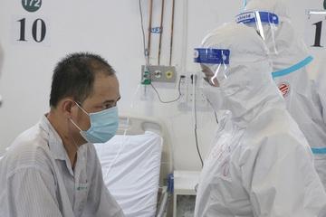 Bệnh nhân Covid-19 nặng, từng có lúc buông xuôi hồi phục ngoạn mục