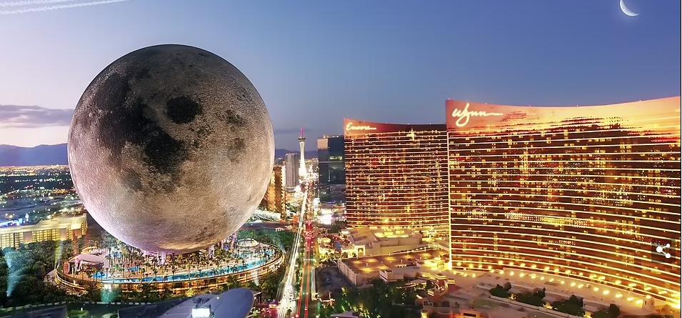 Bên trong khách sạn mặt trăng khổng lồ cao 224 mét