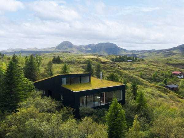 Những tòa nhà kết hợp hoàn hảo với thiên nhiên, phải tinh mắt mới nhìn thấy được