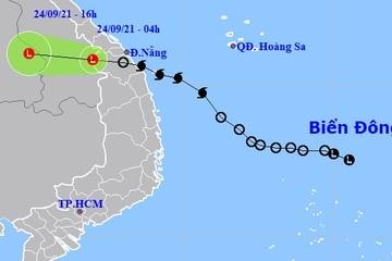 Hà Tĩnh đến Thừa Thiên Huế mưa rất to do ảnh hưởng bão số 6