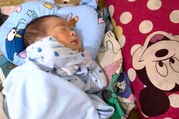 Thêm 1 bé trai bị bỏ rơi trước cổng nhà trong đêm ở Nghệ An