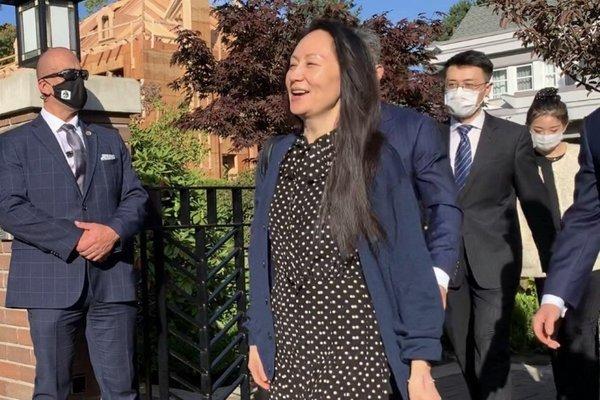 Đạt được thỏa thuận với Mỹ, 'công chúa Huawei' trở về Trung Quốc, tránh bị dẫn độ