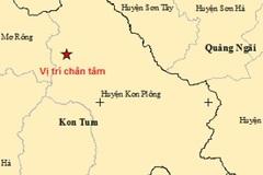 Một ngày 2 trận động đất ở một huyện thuộc tỉnh Kon Tum