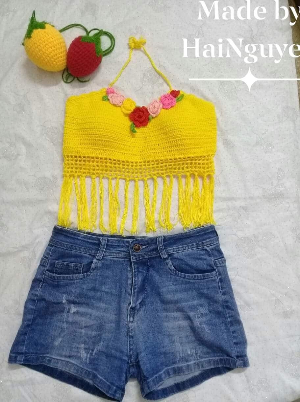Mê tít những sản phẩm đan móc thủ công của bà mẹ 8X Quảng Ninh